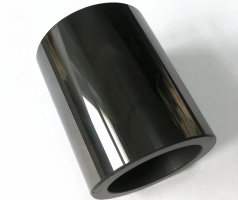 Mirror Polished Silicon Carbide Tube Wear Resistance Al2O3 Ceramic Cylinder