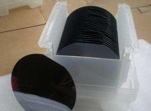 China Preto Polysilicon de 8 lingotes do silicone da bolacha de silicone de IC da polegada para o processo do semicondutor distribuidor